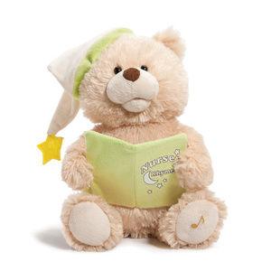Plush Mechanical Nursery Rhymes Bear 5 Rhymes